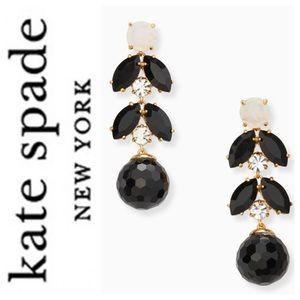 Kate Spade linear earrings